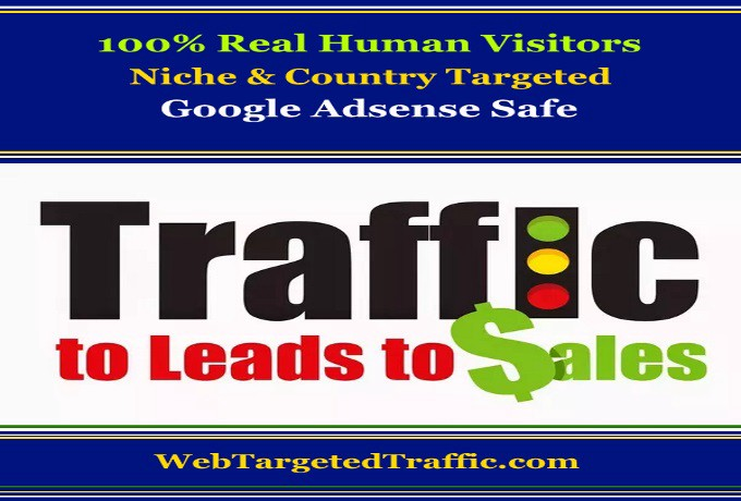 Targeted Traffic To Leads To Sales