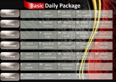 30 Day SEO Plan - BASIC
