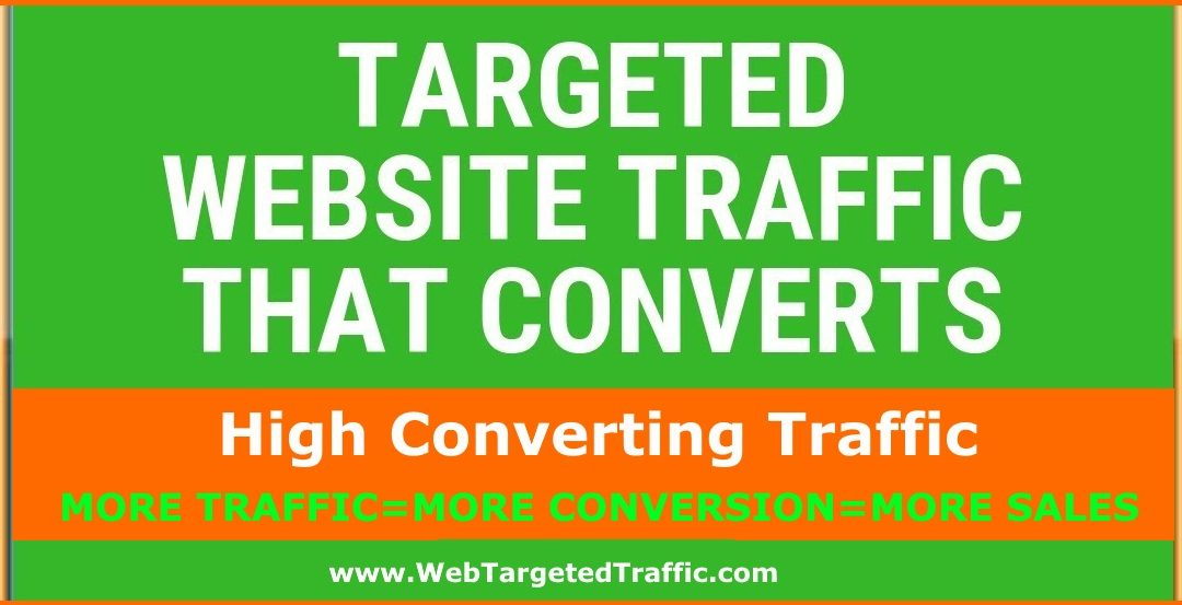 Buy Targeted Traffic That Converts To Sales