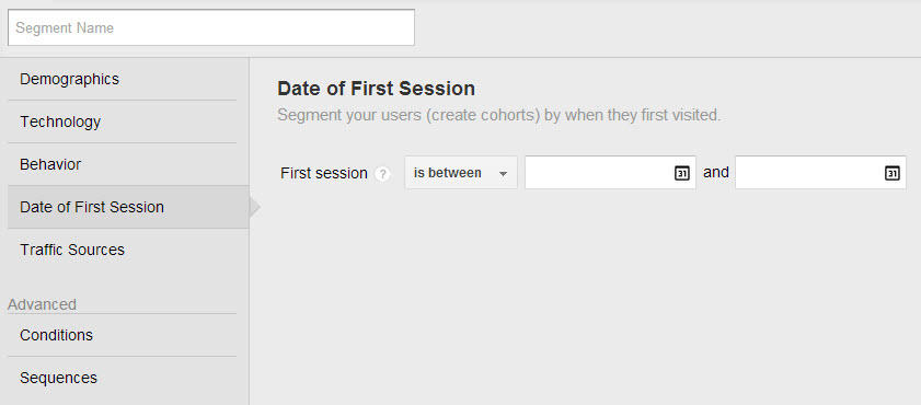 google-analytics-tips-date-first-session